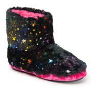 Dearfoams Star Girls' Slipper Boots