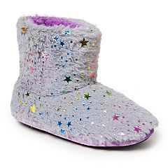 Dearfoams Star Girls' Slipper Boots