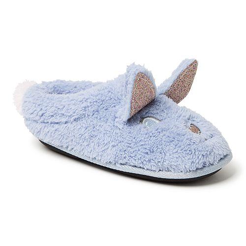 Dearfoams Bunny Girls' Slippers