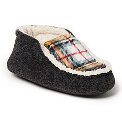Dearfoams Plaid Boys' Slipper Boots
