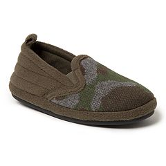 Dearfoams Camo Boys' Slippers