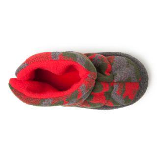 Dearfoams Camo Boys' Slipper Boots