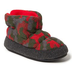 Dearfoams Camo Boys' Slipper Boots