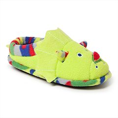 Dearfoams Dinosaur Boys' Slippers
