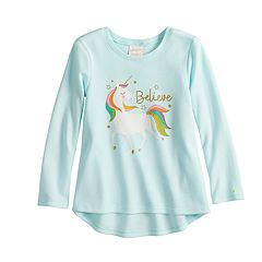 Toddler Girl Jumping Beans® Thermal Graphic Tee