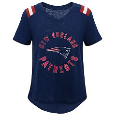 Girls 7-16 New England Patriots Retro Tee