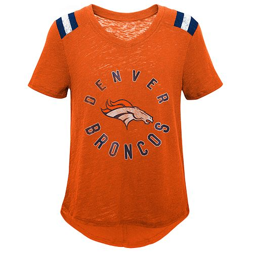 Girls 7-16 Denver Broncos Retro Tee