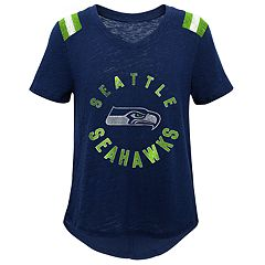 Girls 7-16 Seattle Seahawks Retro Tee