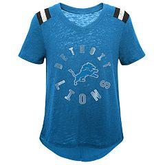 Girls 7-16 Detroit Lions Retro Tee
