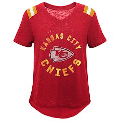 Girls 7-16 Kansas City Chiefs Retro Tee