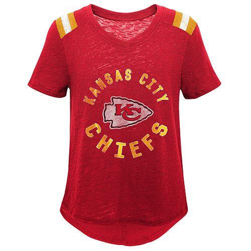 Girls 7-16 Kansas City Chiefs Retro Tee