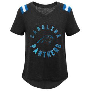 Girls 7-16 Carolina Panthers Retro Tee