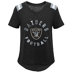 Girls 7-16 Oakland Raiders Retro Tee