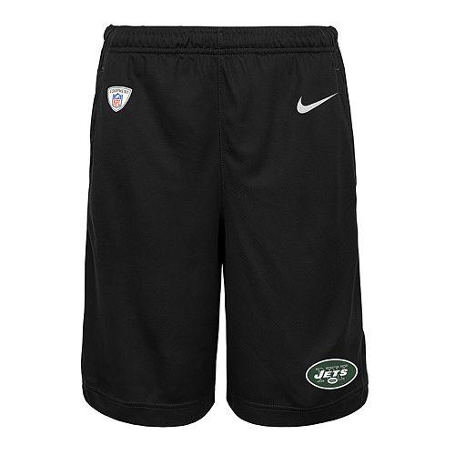 Boys 8-20 Nike New York Jets Knit Dri-FIT Shorts