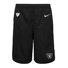 Boys 8-20 Nike Oakland Raiders Knit Dri-FIT Shorts