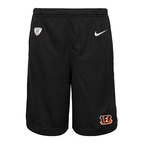 Boys 8-20 Nike Cincinnati Bengals Knit Dri-FIT Shorts