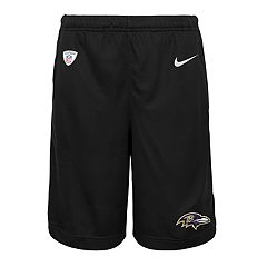Boys 8-20 Nike Baltimore Ravens Knit Dri-FIT Shorts