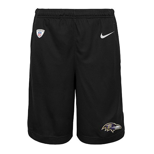 Boys 8-20 Nike Baltimore Ravens Knit Dri-FIT Shorts
