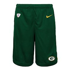 69b49f759eef7b Boys 8-20 Nike Green Bay Packers Knit Dri-FIT Shorts