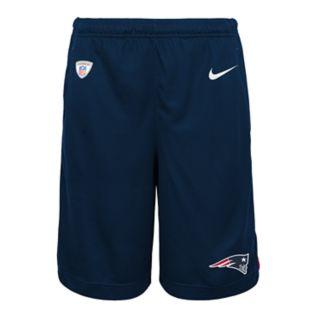Boys 8-20 Nike New EnglandPatriots Knit Dri-FIT Shorts