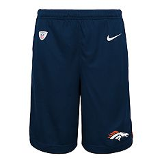 Boys 8-20 Nike Denver Broncos Knit Dri-FIT Shorts