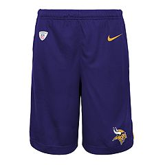 Boys 8-20 Nike Minnesota Vikings Knit Dri-FIT Shorts