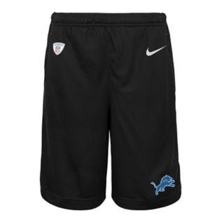 Boys 8-20 Nike Detroit Lions Knit Dri-FIT Shorts