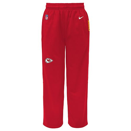 Boys 8-20 Nike Kansas City Chiefs Therma-FIT Pants