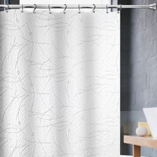 Popular Bath Milan Matelasse Shower Curtain