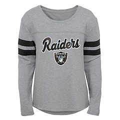 Girls 7-16 Oakland Raiders Field Amor Tee