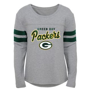 Girls 7-16 Green Bay Packers Field Amor Tee