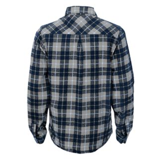 Boys 8-20 Seattle Seahawks Sideline Plaid Shirt