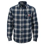 Boys 8-20 Houston Texans Sideline Plaid Shirt