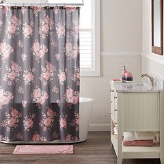 LC Lauren Conrad Bold Blossom Shower Curtain