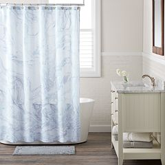 LC Lauren Conrad Marble Shower Curtain
