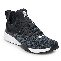81b645c8 Nike Foundation Elite TR Women's Cross Training Shoes. Black White Barely  Gray ...