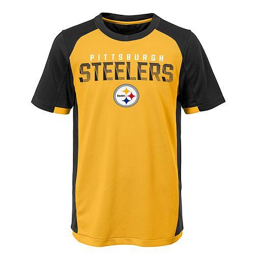 online store 1c309 0a26a Boys 8-20 Pittsburgh Steelers Circuit Breaker Tee