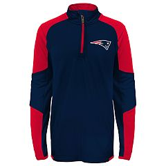 Boys 8-20 New England Patriots Beta Performance Pullover