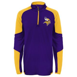 Boys 8-20 Minnesota Vikings Beta Performance Pullover