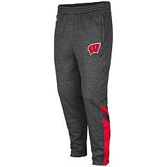 Men's Wisconsin Badgers Software Fleece Pants