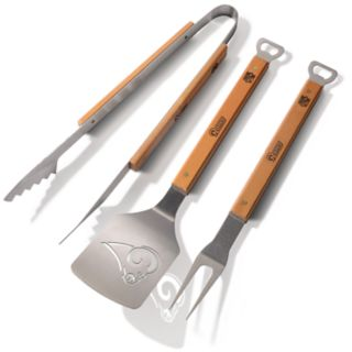 Los Angeles Rams 3-Piece Grill Tongs, Spatula & Fork BBQ Set