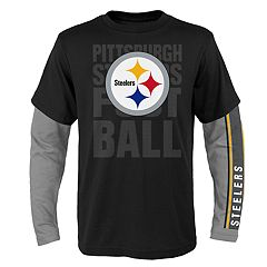 Boys 8-20 Pittsburgh Steelers Playmaker Tee Set
