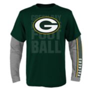 Boys 8-20 Green Bay Packers Playmaker Tee Set