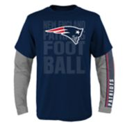 Boys 8-20 New England Patriots Playmaker Tee Set