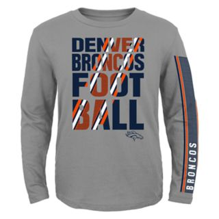 Boys 8-20 Denver Broncos Playmaker Tee Set