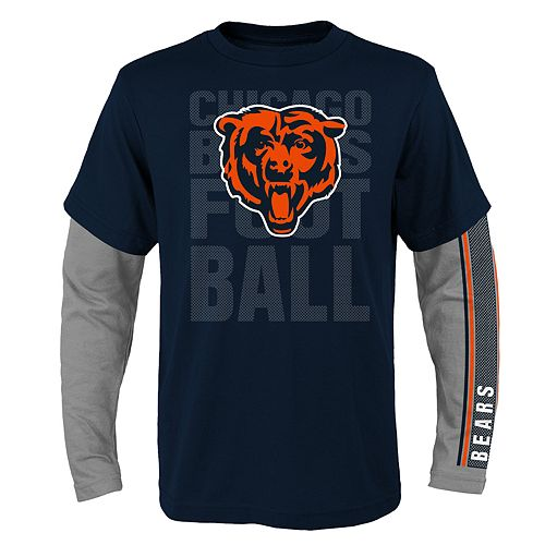 Boys 8-20 Chicago Bears Playmaker Tee Set