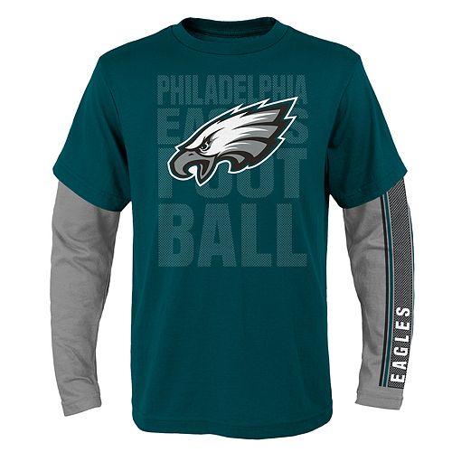 Boys 8-20 Philadelphia Eagles Playmaker Tee Set