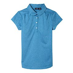 Girls 7-16 Chaps School Uniform Performance Polo