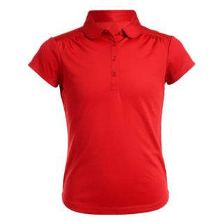 Girls 4-16 & Plus Size Chaps School Uniform Performance Polo