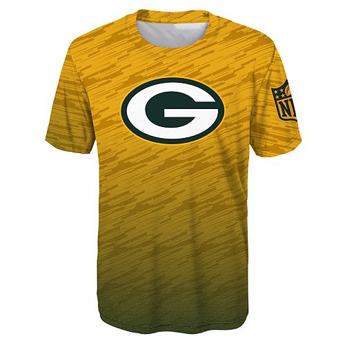 Boys 8-20 Green Bay Packers Propulsion Tee